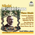 Nikolai Tcherepnin Piano Music CD